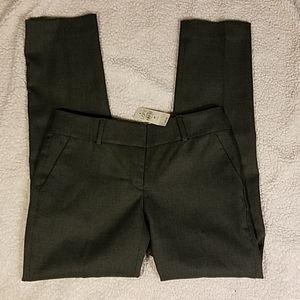 New Loft Petites Olive Trousers Sz 2P